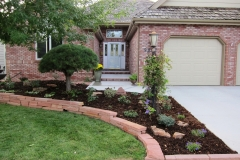 Curb appeal after plants